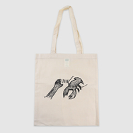 Lobster Theremin Beige Tote Bag