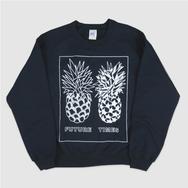 Future Times - Pineapple Sweater - Blue