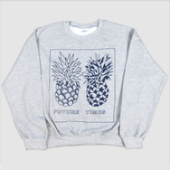 Future Times - Pineapple Sweater - Grey