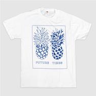 Future Times - Pineapple Shirt - White
