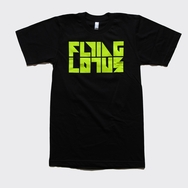 Flying Lotus - Fluro Logo T-Shirt