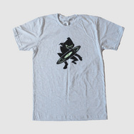 Ninja Tune x Bleep T-Shirt (Ash Grey)