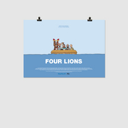 Four Lions  - Special Edition Print