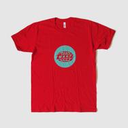 Warp Logo T-Shirt - Red T-Shirt - Green Logo