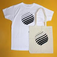 Circles T-Shirt + Tote