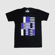 Black Warp Logo T-Shirt