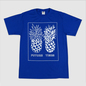 Future Times - Pineapple Shirt - Blue