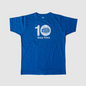 Warp Films 10-Year Anniversary T-Shirt (Blue)
