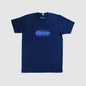 Bleep Waveform T-Shirt - Purple on navy