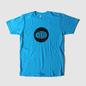 Warp Logo T-Shirt - Turquoise T-Shirt - Black Logo
