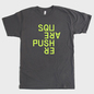 Squarepusher Asphalt T-Shirt With Fluorescent Yellow Print