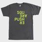 Squarepusher Asphalt T-Shirt With Fluorescent Yellow Print