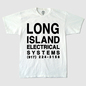 L.I.E.S. Text White T-Shirt - Black Print
