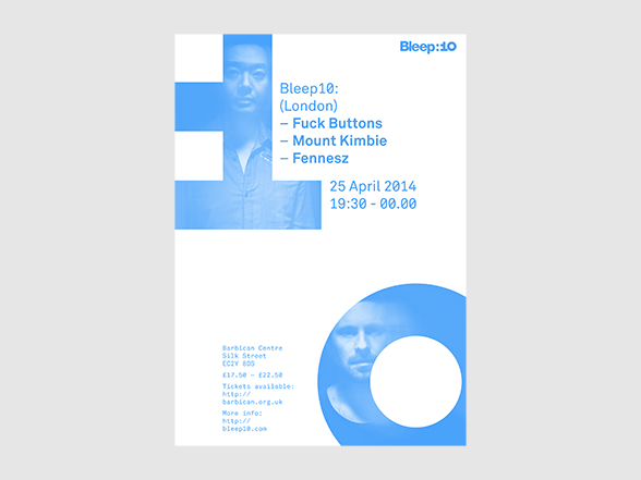 Bleep:10 London Poster