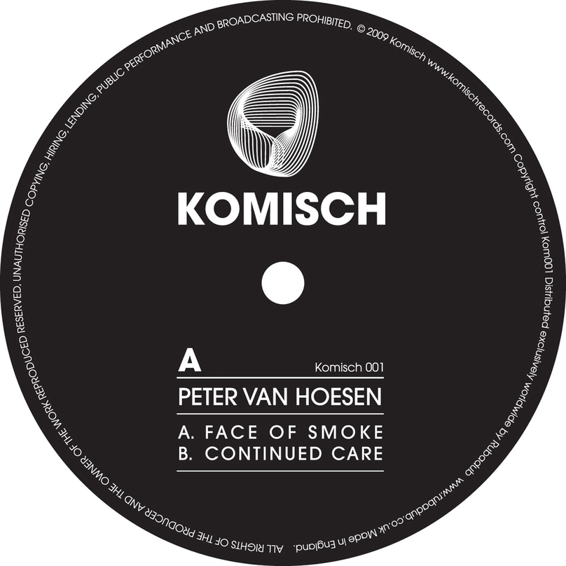 Peter Van Hoesen - Face Of Smoke EP