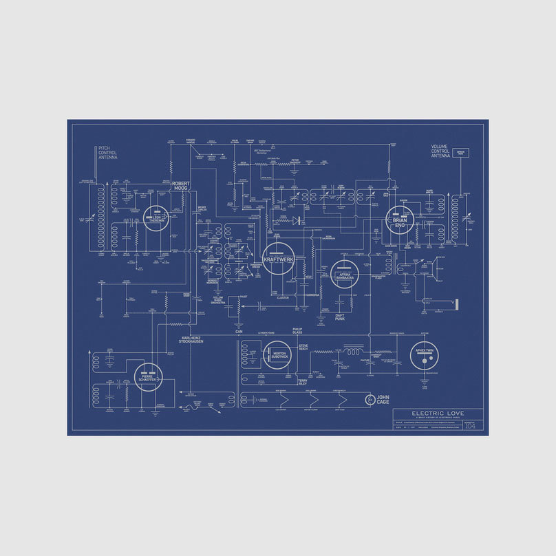 Dorothy electric love blueprint a history of electronic music electric love blueprint a history of electronic music malvernweather Choice Image