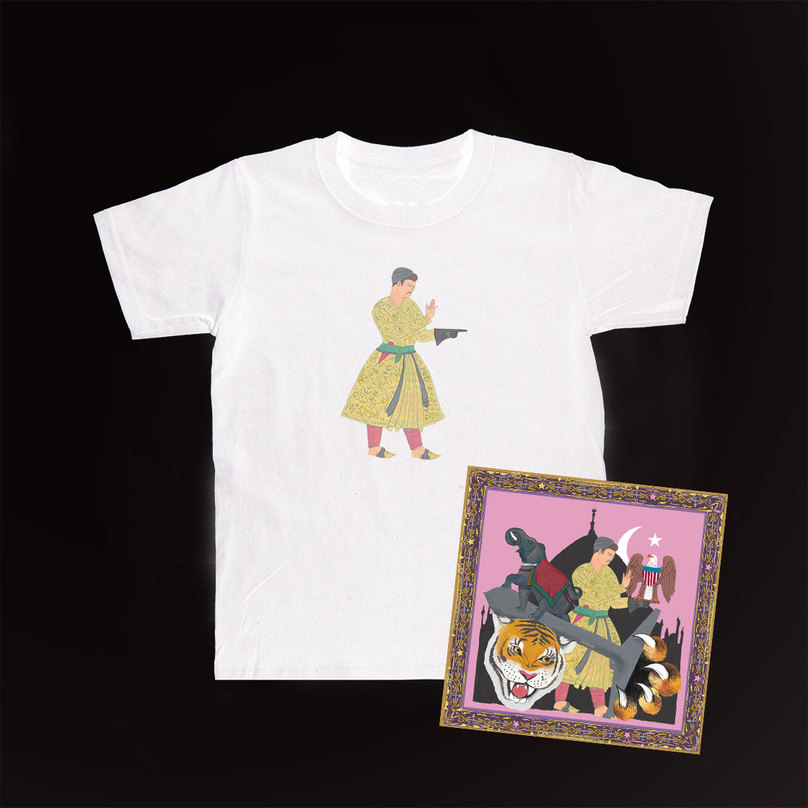 Prince T-shirt + 'Cashmere' CD Bundle