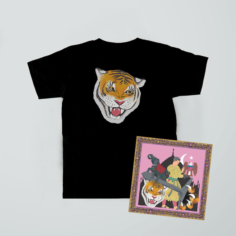 Tiger T-shirt + 'Cashmere' CD Bundle