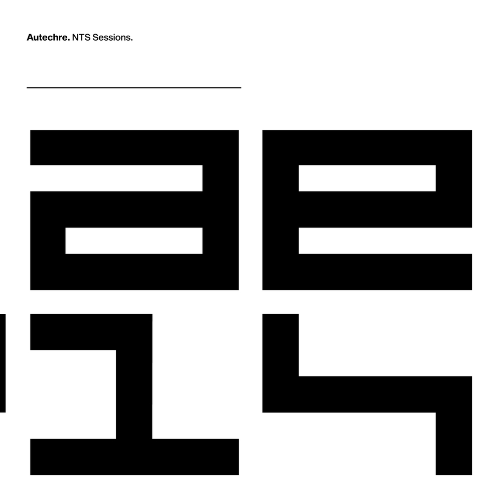 Autechre new boxet NTS Sessions 1-4