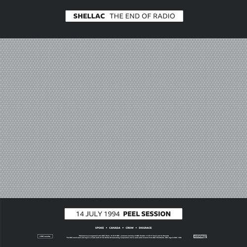 Shellac - The End Of Radio  Vinyl LP, CD  Bleep