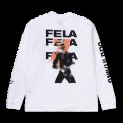 Fela Fela Fela T-shirt White