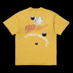 Power Vagabonds T-Shirt Yellow