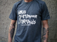 IDRIS ACKAMOOR & THE PYRAMIDS - LOGO TEE (DARK GREY)