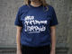 IDRIS ACKAMOOR & THE PYRAMIDS - LOGO TEE (NAVY BLUE)