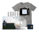 Unsigned LP + T-shirt + Pin Bundle