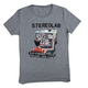 Grey Stereolab T-Shirt (Kids Sizing)