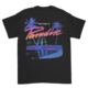 Paradise x Millinsky Black Tee (Swimming Pool)