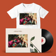 Karaoke Angel T-shirt + LP Bundle