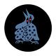 Sophy Hollington Bird Large Pin Badge