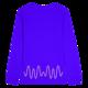 Blue Unisex L/S Tee
