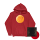 Dragonball Red Durag Hoodie + Red Vinyl Bundle