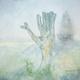 KRONOLOGI #8 painting – summer samaritan (signed watercolour)