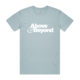 Above & Beyond Pale Blue Tee