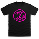 Second Place Pink T-Shirt - Black