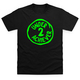 Second Place Green T-Shirt - Black