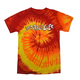 Underachiever Tie Dye T-Shirt - Blaze