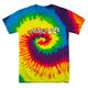 Underachiever Tie Dye T-Shirt - Neon Rainbow