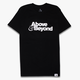 Above & Beyond Logo Black Tee