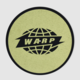 Warp Logo Slipmat Gold Circle On Black