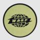 Warp Logo Slipmat Gold Circle On Black