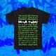 Devil's Face Black T-Shirt