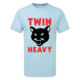 Twin Heavy Cat T-shirt