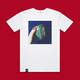 Fall to Pieces artwork T-shirt WHITE