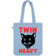 Twin Heavy Cat Tote