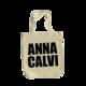 Anna Calvi Logo Tote Bag (Natural)