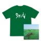 Logo T-Shirt + Bright Green Field